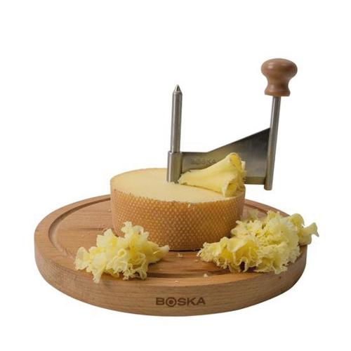 Käseschaber »Amigo« mit Glocke.
