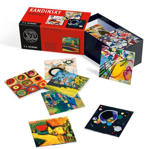 Kandinsky. Memo. Gedächtnisspiel mit 36 Motiven des berühmten Expressionisten.