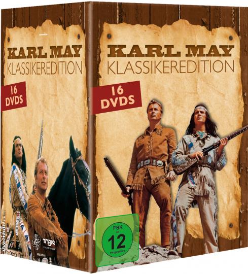 Karl May. Klassikeredition. 16 DVDs.