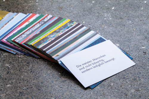 Kartenset »Ruhe«.