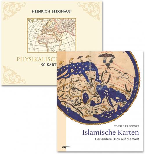 Kartenwelten. 2 Bände.