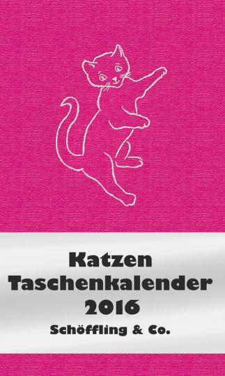 Katzen Taschenkalender 2016.