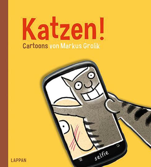 Katzen! Cartoons von Markus Grolik.
