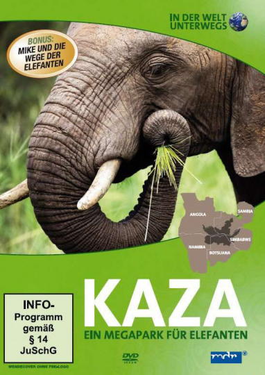In der Welt unterwegs: Kaza. DVD.