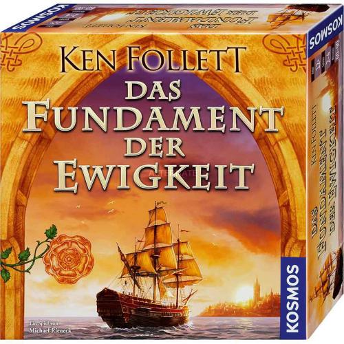 Ken Follett. Das Fundament der Ewigkeit. Historisches Strategiespiel.