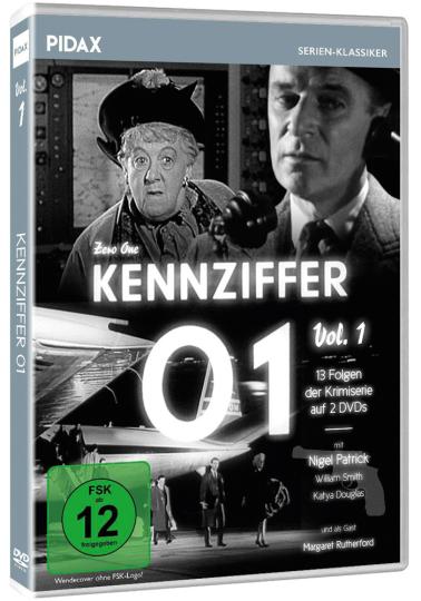 Kennziffer 01 Vol. 1. 2 DVDs.