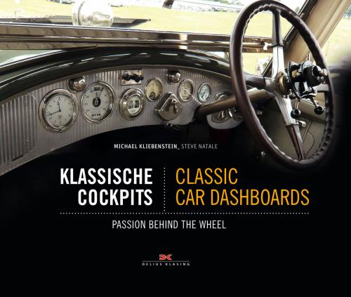 Klassische Cockpits. Classic car dashboards. Leidenschaft am Steuer.