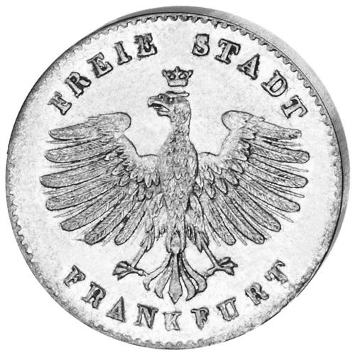 Kleinmünze Stadtansicht Frankfurt