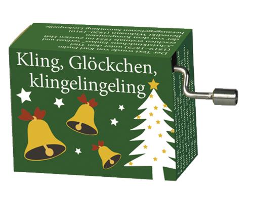 Spieluhr »Kling, Glöckchen«.