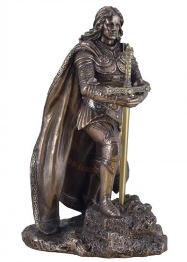 König Artus zieht Schwert aus dem Stein