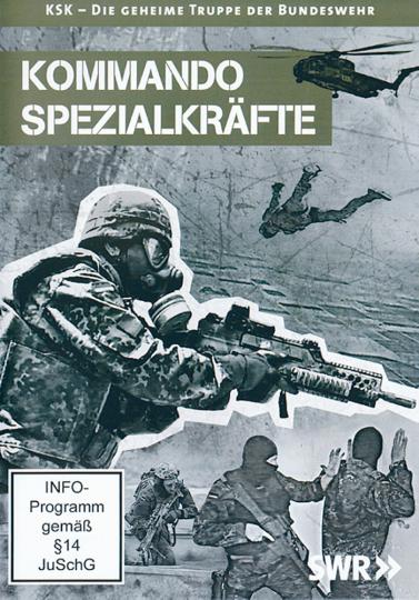 Kommando Spezialkräfte: KSK - Die geheime Truppe der Bundeswehr DVD