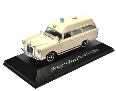 Krankenwagen Mercedes Benz 230 - Modell 1:43