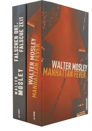 Krimi-Paket: Falscher Ort, falsche Zeit / Manhattan Fever 2 Bände