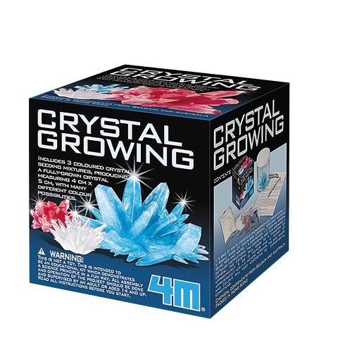 Kristalle züchten.