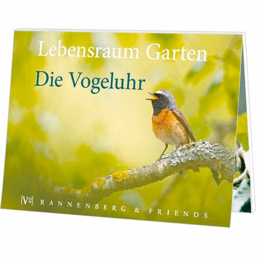 Lebensraum Garten: Die Vogeluhr - Postkartenbuch