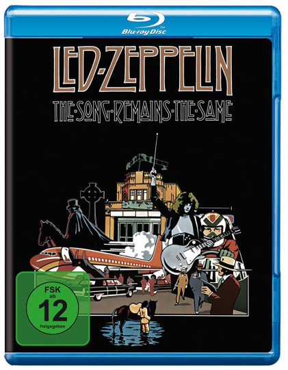 Led Zeppelin: The Song Remains The Same (Special-Edition). Blu-ray Disc.