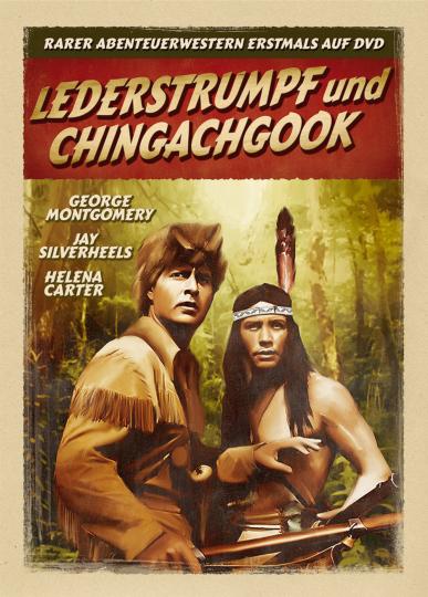Lederstrumpf und Chingachgook. DVD.