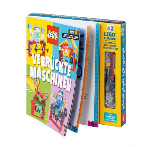 Lego Verrückte Maschinen. Geschenkbox mit Buch.