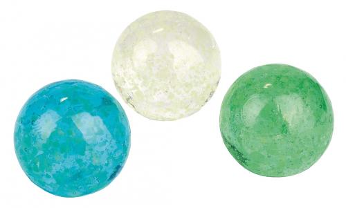 Leuchtende Mondschein-Murmeln 3er-Set