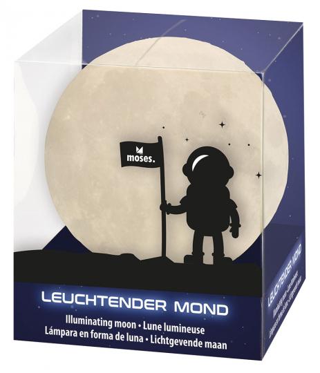 Leuchtender Mond 10 cm
