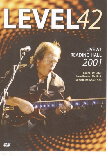 Level 42 Live at Reading Hall 2001 DVD