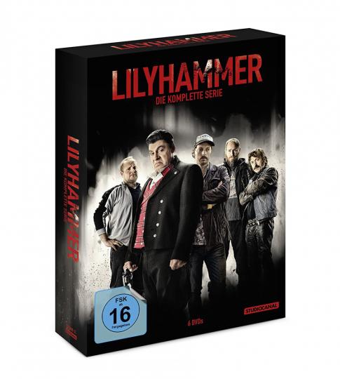 Lilyhammer (Komplette Serie). 6 DVDs.