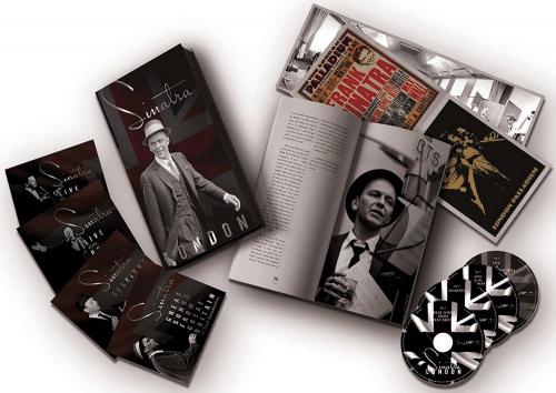 Frank Sinatara Live in London 3 CDs + 1 DVD