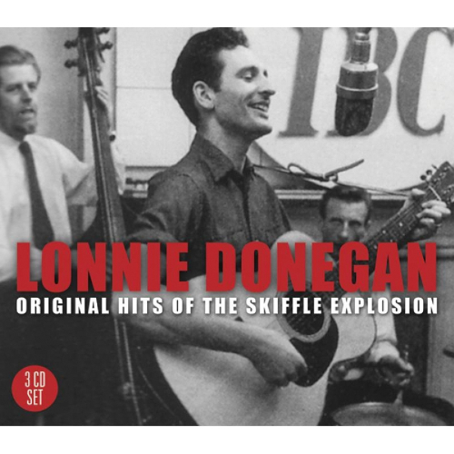 Lonnie Donegan. Original Hits Of The Skiffle Explosion. 3 CDs.