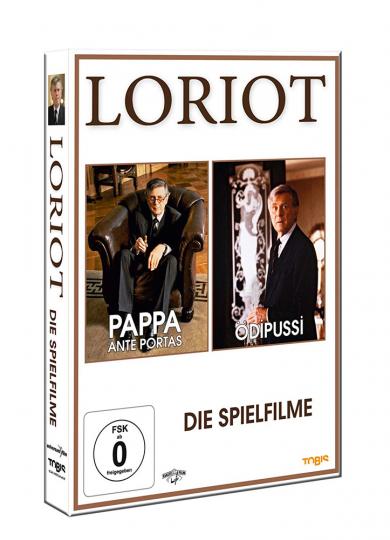 Loriot. Die Spielfilme. 2 DVDs.