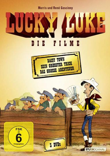 Lucky Luke - Die Filme 3 DVDs
