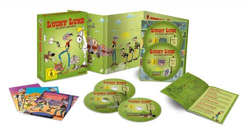Lucky Luke - Die neuen Abenteuer (Komplette Serie im Digipak). 8 DVDs.