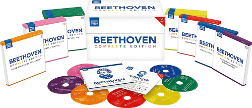 Ludwig van Beethoven. Beethoven Complete Edition (Naxos 2019). 90 CDs.
