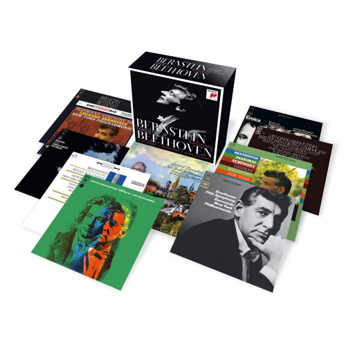 Ludwig van Beethoven. Bernstein conducts Beethoven. 10 CDs.