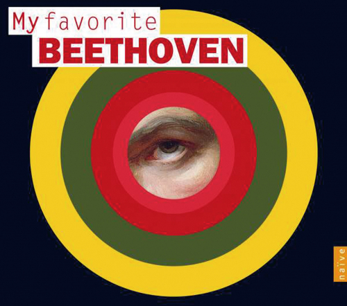 Ludwig van Beethoven. My Favorite Beethoven. 4 CDs.