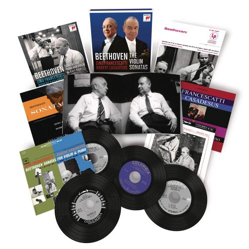 Ludwig van Beethoven. Violinsonaten Nr.1-10. 7 CDs.