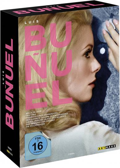 Luis Buñuel Edition. Sieben Meisterwerke. 7 DVDs.