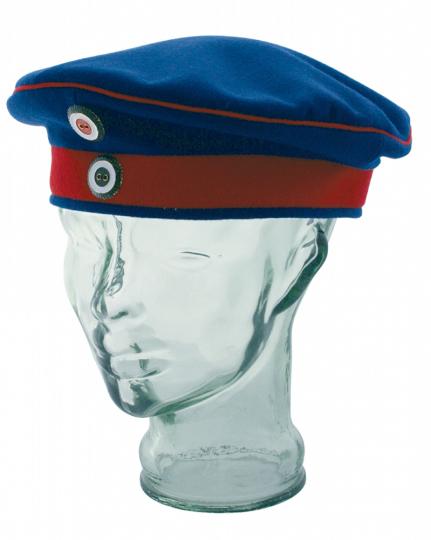 Mannschaftskrätzchen Kaiserreich blau Preußen - Ausgehuniform - Größe 58