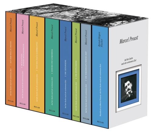 Marcel Proust. Auf der Suche nach der verlorenen Zeit. 8 Bände in Schuber.