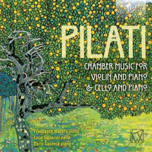 Mario Pilati. Kammermusik. 2 CDs.