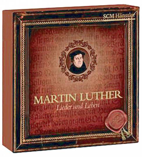 Martin Luther - Lieder & Leben 4 Audio-CDs (2 CDs mit Luther-Chorälen und 2 CDs mit biographischen Hörspielen)