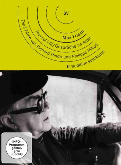 Max Frisch. Journal I-III. Gespräche im Alter. 2 DVDs.