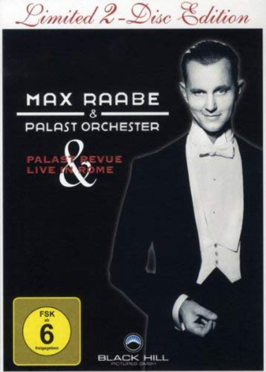 Max Raabe. Palast Revue / Live In Rome (Special Edition). 2 DVDs.