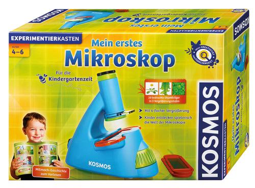 Mein erstes Mikroskop. Experimentierkasten.