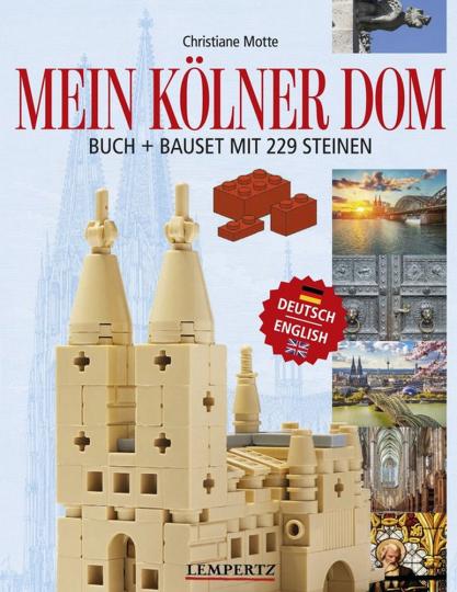 Mein Kölner Dom - Buch & Bauset
