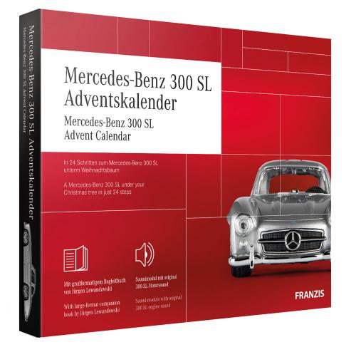 Mercedes-Benz 300 SL Adventskalender 2020.