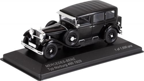 Mercedes Nürburg 460 schwarz Maßstab 1:43