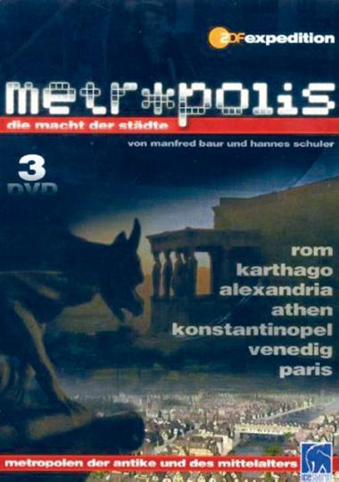Metropolis - Die Macht der Städte Nr. 1-3 auf 3 DVDs