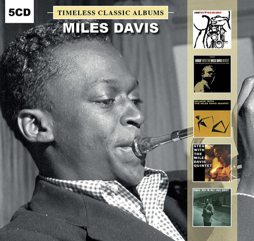 Miles Davis. Timeless Classic Albums. 5 CDs.