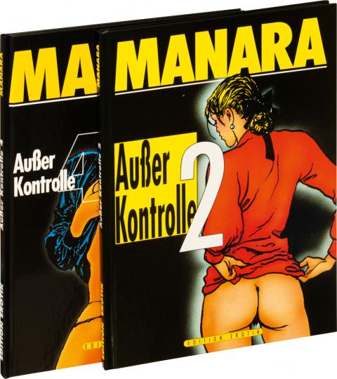 Milo Manara. Außer Kontrolle 2 und 4. Graphic Novel Set. 2 Bände.
