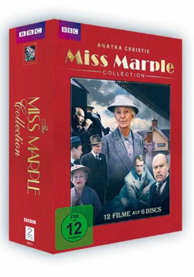 Miss Marple (Komplette Serie). 6 DVDs.